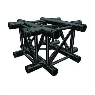Global Truss F34 PL Stage Black 4 Way Cross Piece (4133-41PL-B)
