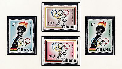 Ghana       1960  17Th Olympic Games   Mnh