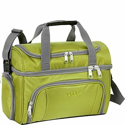 Lunch Crew Cooler Bag Shoulder Travel Carry Picnic Trip Camping Compartment NEW