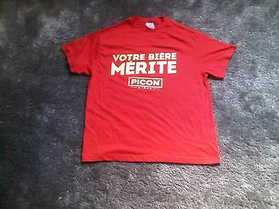 tee-shirt picon taille L