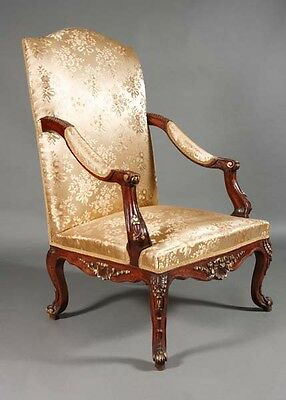 Beautiful Classic Baroque Armchair Baroque Chair in the Louis Quinze Style