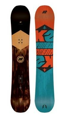 K2 Snowboard - Turbo Dream - All Mountain, Rocker, Directional - 2017
