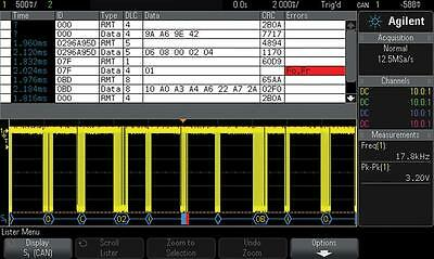 SOFTWARE AUTOMOTIVE SERIAL TRIGGERING - DSOX2AUTO (Fnl)