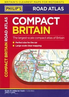 Philip's Compact Road Atlas