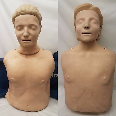 Laerdal Resusci Anne Torso with Soft Carry Case and Hard Case 2 Variations