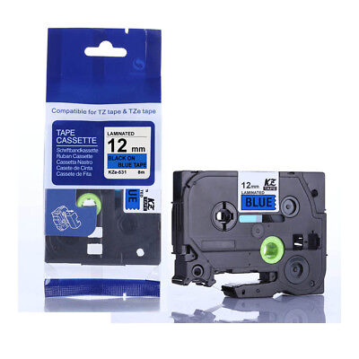 Standard Label Tape Compatible For Brother P-touch TZ-231 Labelers Machine 12mm