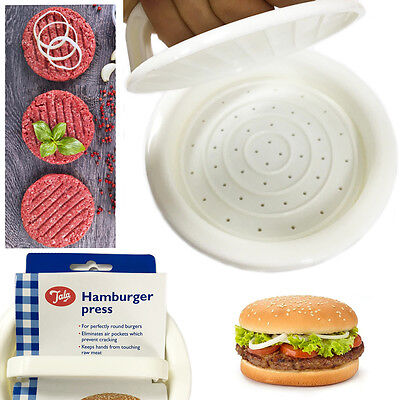 Beef Burger Press TALA Hamburger Easy Home Make Patty Loose Base Quarter Pounder