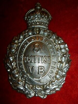 King's Liverpool 8th Scottish VB Regiment OR's Pouch Belt Badge