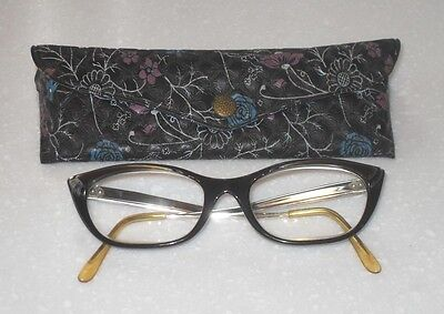 VINTAGE RETRO FUNKY 1950/60s STYLISH LADIES CATS EYES SPECTACLES GLASS COOL