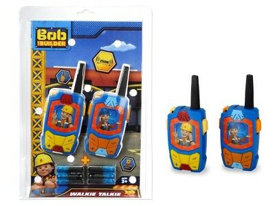 Bob der Baumeister the Builder Walkie Talkie bis 250 m NEU/OVP