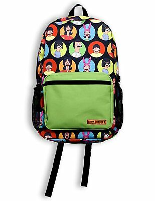 Bob's Burgers Family in Circles Laptop Backpack