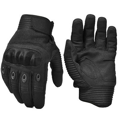 Touch Screen Tactical paintball Airsoft Shooting Hard Knuckle Full Finger Gloves
