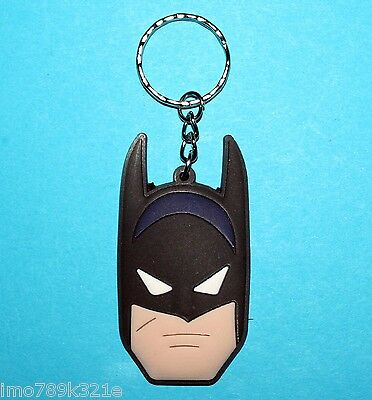 Batman Keyring Bat Man Bag Tag Backpack Tag PVC Avengers Party Favour NEW