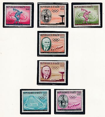 Haiti     1960  17Th Olympic Games    Mnh