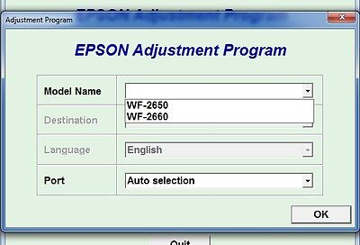 EPSON WORKFORCE WF-2750 Main Paper Loading Cassette Tray WF-2760, WF
