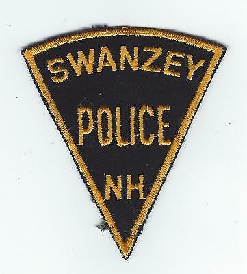 VINTAGE SWANZEY, NEW HAMPSHIRE POLICE (CHEESE CLOTH BACK) patch