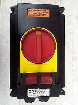 CEAG GHG 981 0038 R0002 25A 6 pole Explosion Proof Rotary Isolator Switch