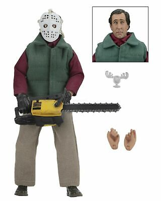 "National Lampoon's Christmas Vacation - 8"" Clothed Figure Chainsaw Clark - NECA"