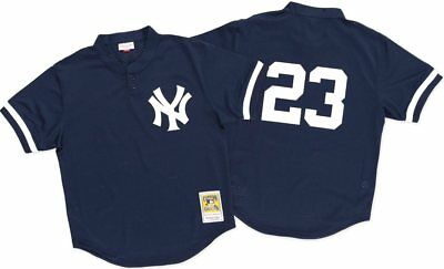 3286cb754 Don Mattingly New York Yankees Mitchell & Ness Authentic 1995 BP Jersey