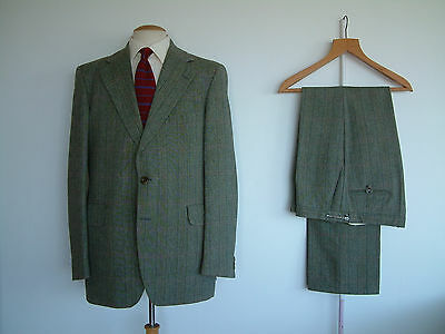 "MAGEE TWEED TOWN & COUNTRY SUIT..42""L x 38""..HEAVY QUALITY..PURE WOOL..GOODWOOD"