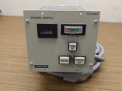 Pfeiffer TCP 040 Vacuum Pump Controller Power Supply