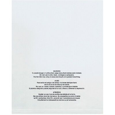 1-4000 14x20 Suffocation Warning Self Sealing Clear Poly Bag Amazon FBA Approved