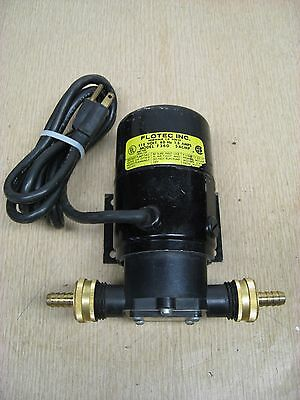 Flotec Model F360 115V 1.5A Water Removal Utility Sump Pump Used Free Shipping