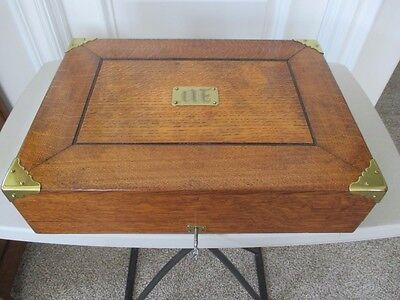 Antique Oak Silverware/Flatware Box
