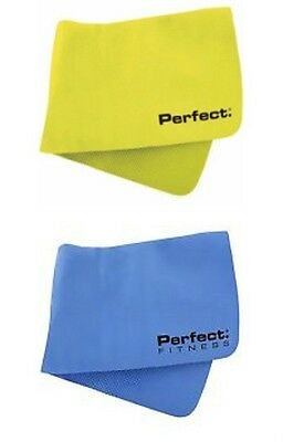 """Perfect Fitness Cooling Towel Hyper Evaporative Material Neon or Blue 29"""" x 11"""""""