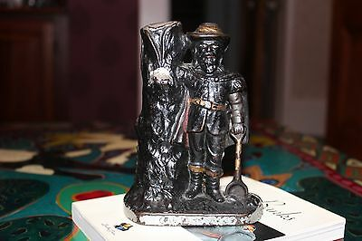 Ives (?) Cast Iron Captain Kidd Still Bank, circa 1901