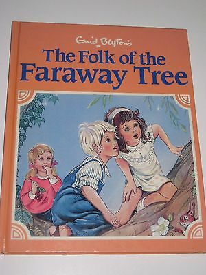 The Folk Of The Faraway Tree - Enid Blyton (Illustrated Edition, 1987)
