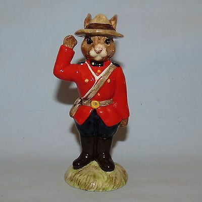 Royal Doulton Bunnykins Ltd Ed UK made DB135 Constable Mountie LE 750 DB135