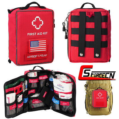 Molle Tactical First Aid Kit Survival Emergency IFAK EMT Tools Medical Pouch Bag