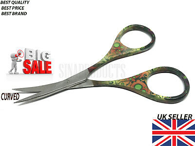 Super Sharp Curved Edge Embroidery Cuticle Nail Scissor