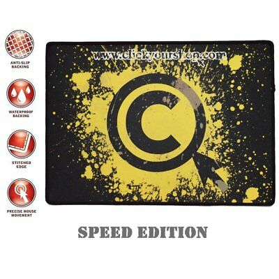 New Silk Gliding Cloth Speed Edition Mouse Pad Mat for Razer Logitech PC Gaming