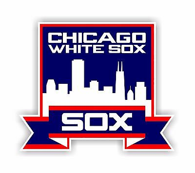 Chicago White Sox Decal / Sticker Die cut