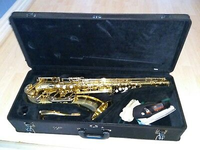 Yamaha YTS-62 II Professional Model Tenor Saxophone lightly used, as new G1 neck