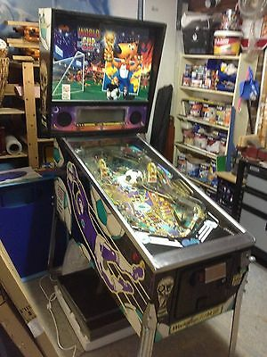 Bally Williams World Cup soccer 94 pinball machine