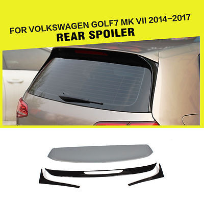 Golf 7 GTI REAR SPOILER ROOF SPOILER GTD R VW CLUBSPORT Performance
