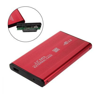 USB2.0 2.5'' Inch SATA HDD Case Hard Drive External Enclosure Mobile Disk Box