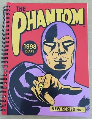 The Phantom 1998 Diary New Series No.1 - Autographed by Glenn Ford