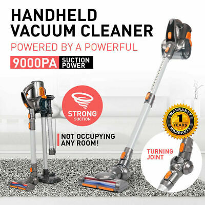 Rechargeable Slim Cordless Handheld Handstick  Vac Vacuum Cleaner Turbo Head