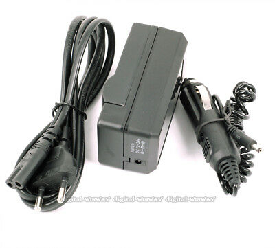 EU Plug BATTERY CAR CHARGER FOR SONY NP-F550 F970 F960 F770 F750 F570 FX1000E