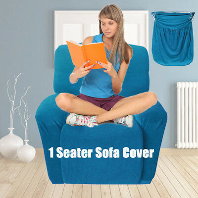 Stretch Secure Fit Sofa Couch Cover 1 Seater Recliner Slipcover Chair Covers AU