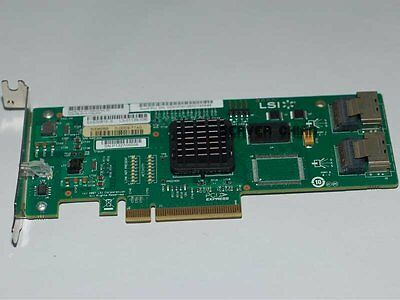 LSI SAS 3081E-R 3Gb/s 8 Port SATA/SAS 1068E Host Adapter Controller Card