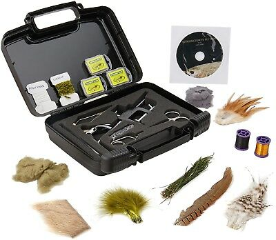 Scientific Anglers Deluxe Fly Tying Kit - Includes Vise, Tools Basic Materials