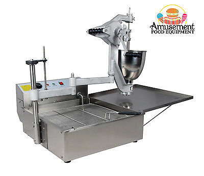 DONUT MACHINE - Loukoumades Ball (3 in 1 Donut Machine inc normal Ring donuts)
