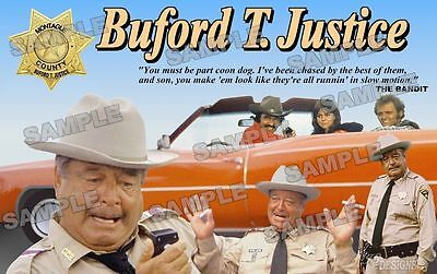Buford T Justice Fan Made Poster Print 11 X 17 Smokey & the Bandit Gleason