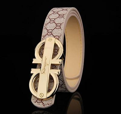 New Fashion Casual Kids Faux Leather Belts Children Leisure Belt For Boys Girls