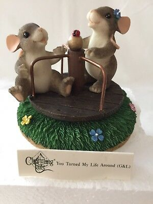 "Charming Tails Figurine ""You Turned My Life Around"" 98/230 Special Edition 2000"